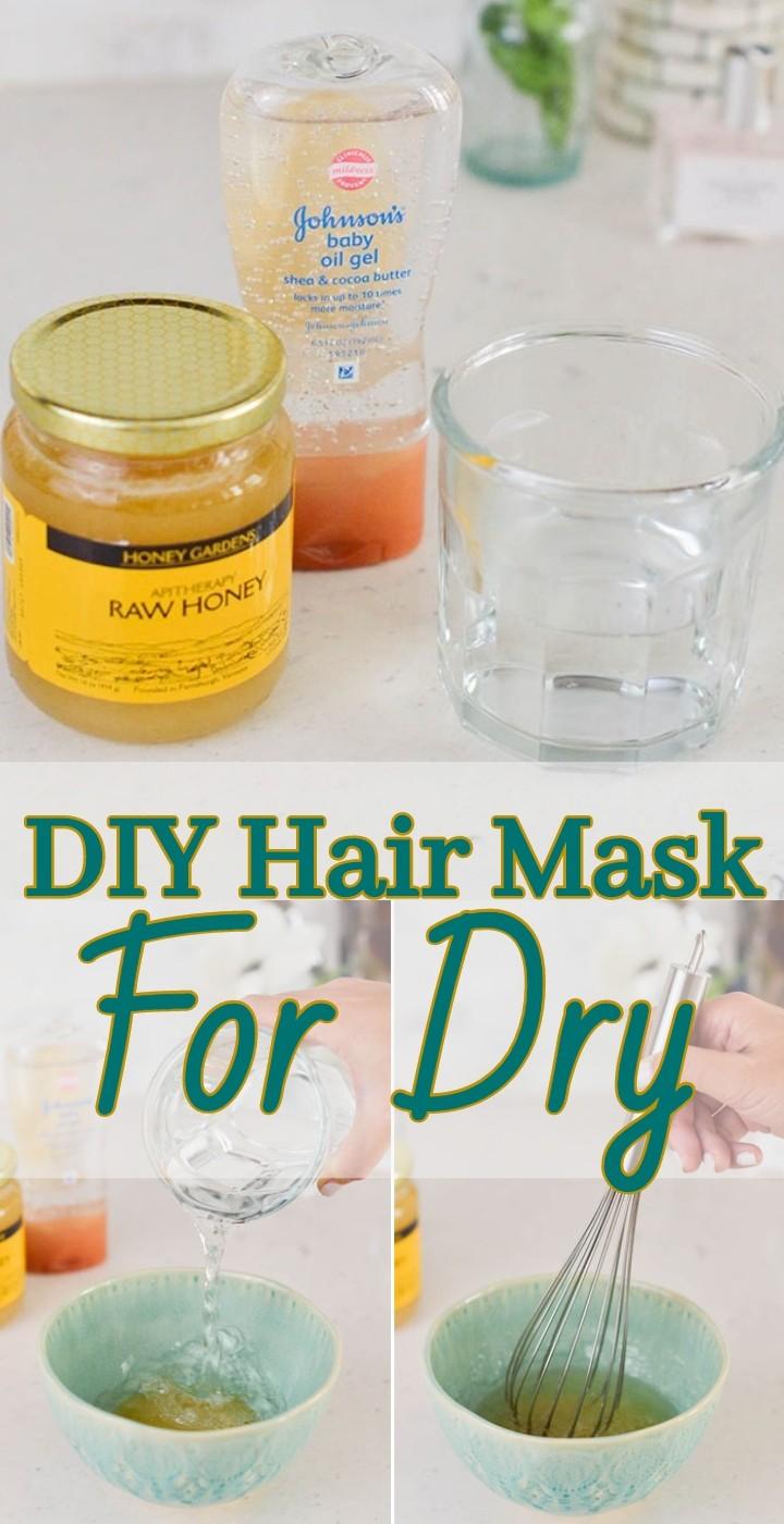 DIY Hair Mask For Dry