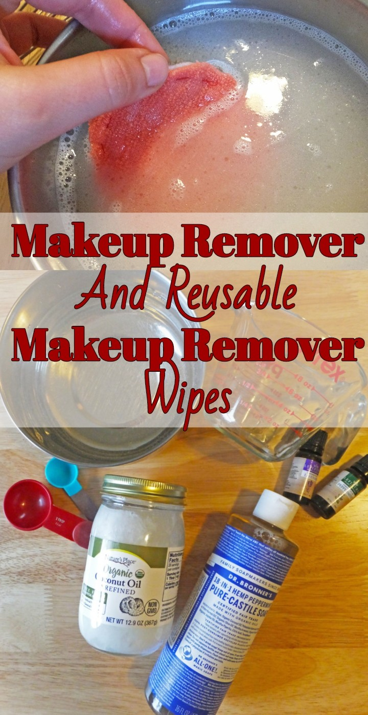 DIY Makeup Remover And Reusable Makeup Remover Wipes