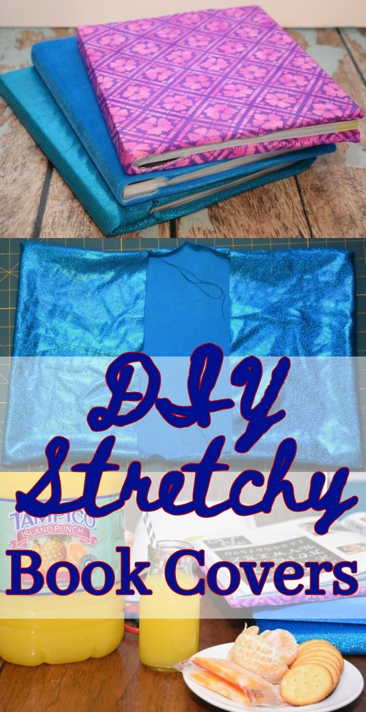 DIY Stretchy Book Covers