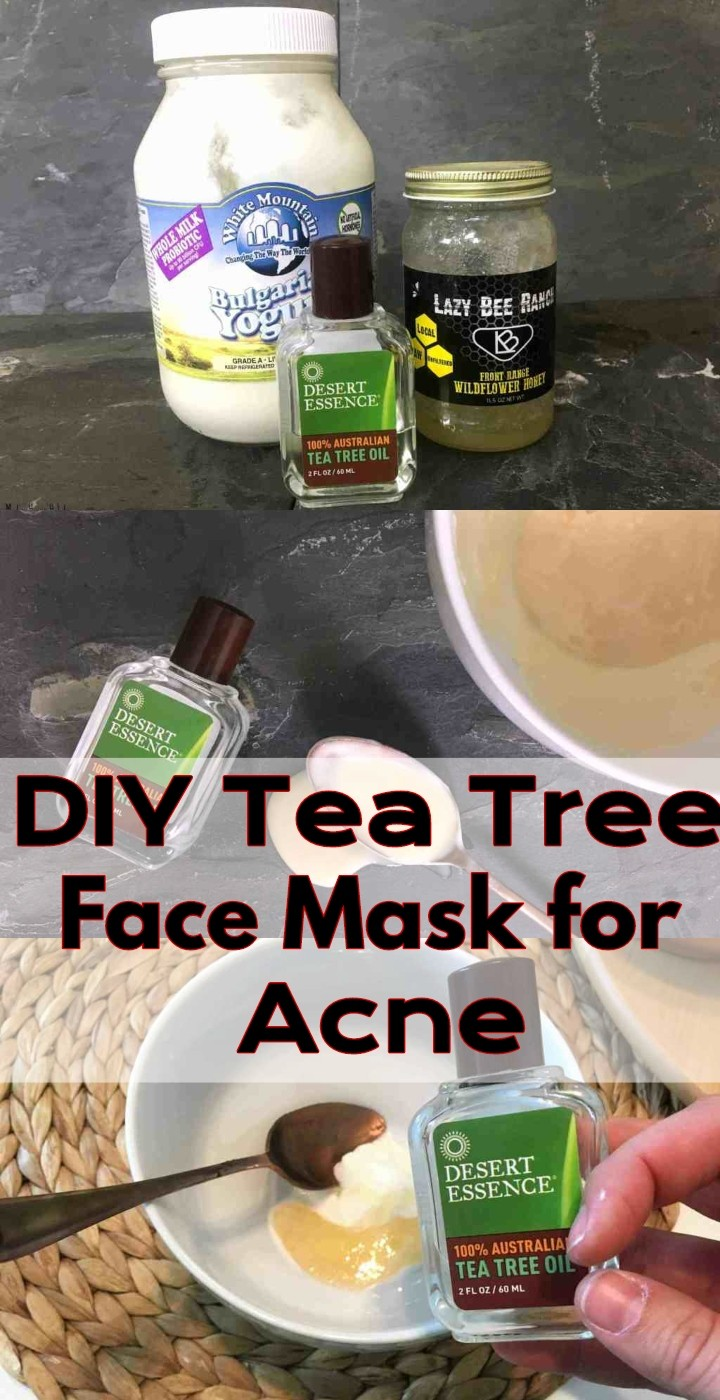 DIY Tea Tree Face Mask for Acne 1