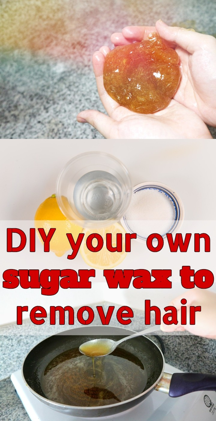 DIY Your Own Sugar Wax To Remove Hair