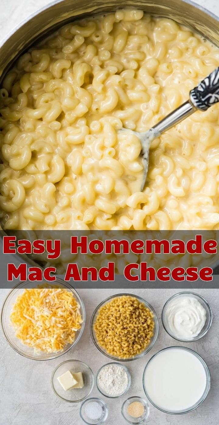 Easy Homemade Mac And Cheese