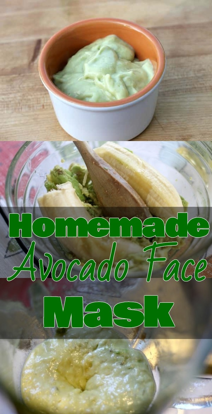 Homemade Avocado Face Mask