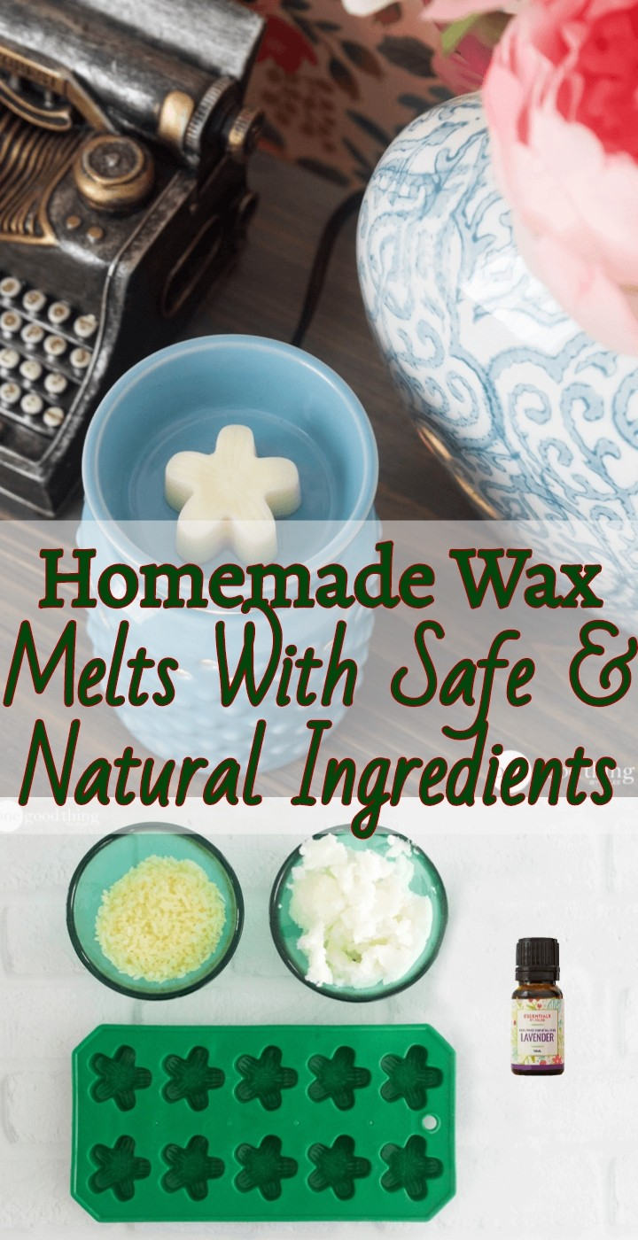 Homemade Wax Melts With Safe Natural Ingredients