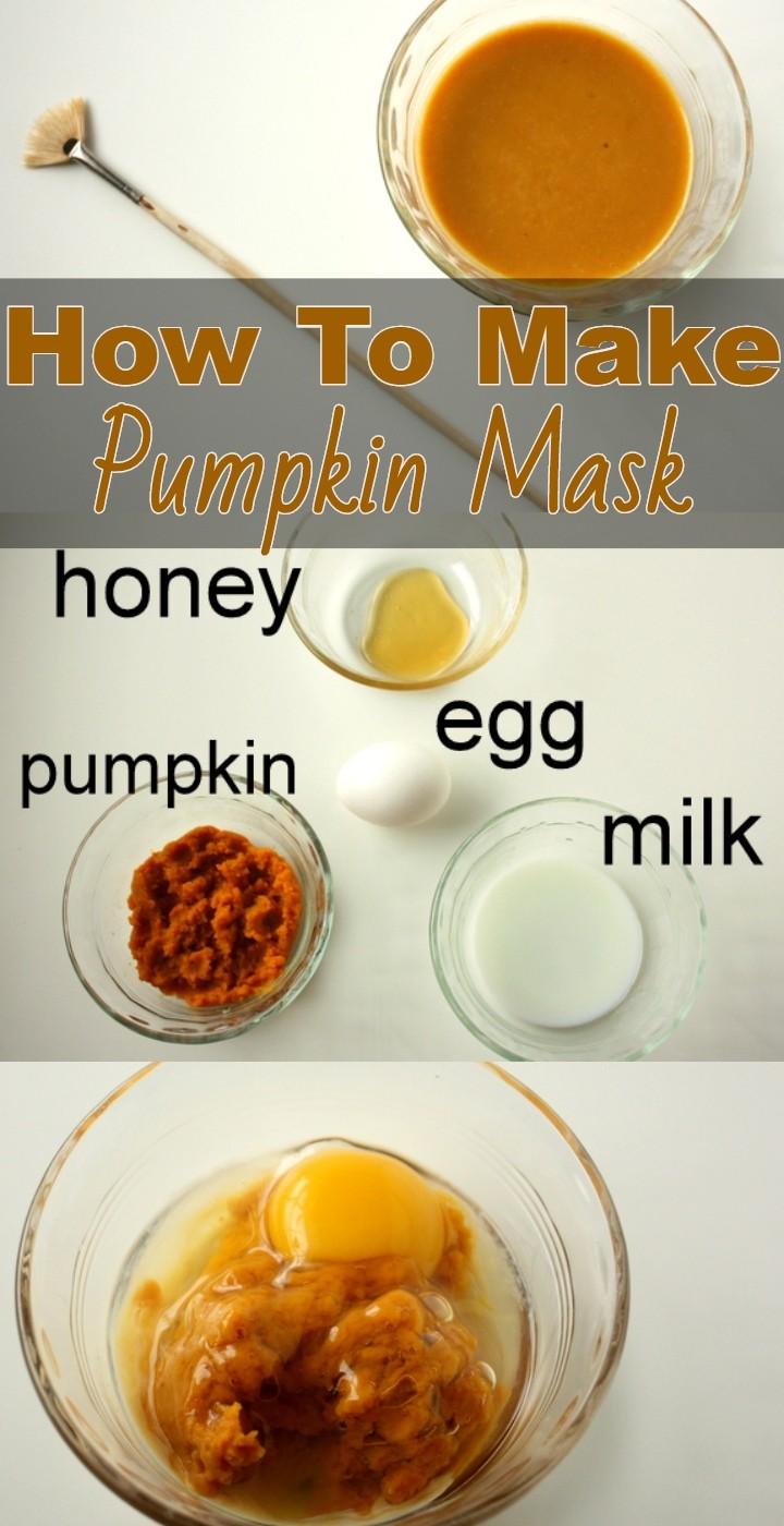 How To Make Pumpkin Mask