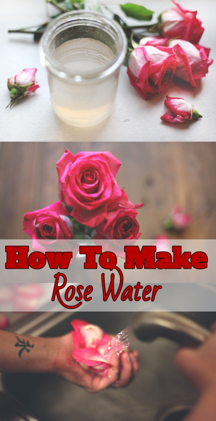 How To Make Rose Water
