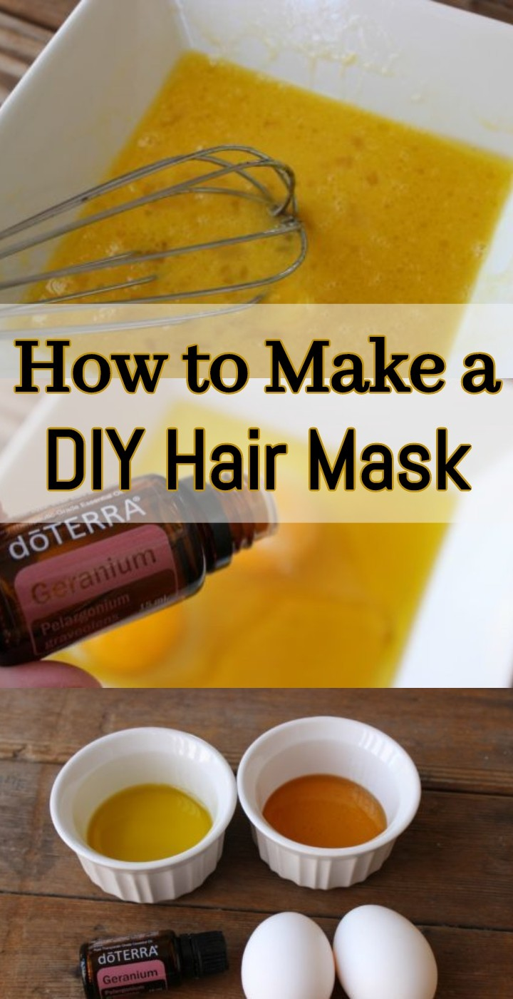 How to Make a DIY Hair Mask