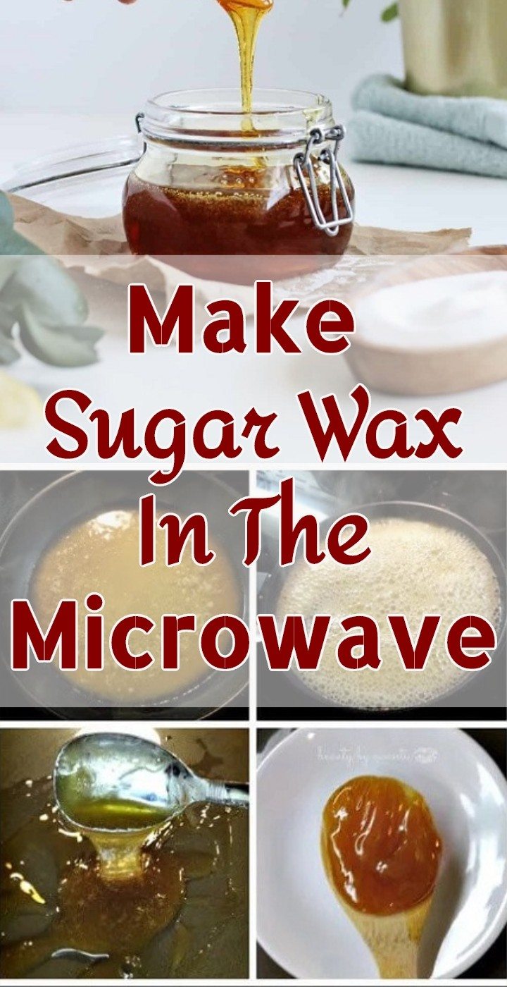 Make Sugar Wax In The Microwave