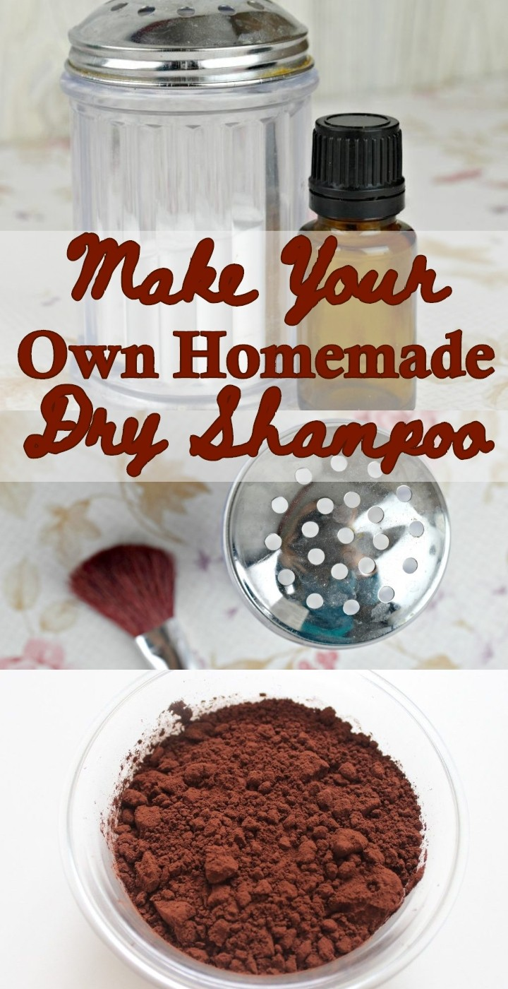 Make Your Own Homemade Dry Shampoo