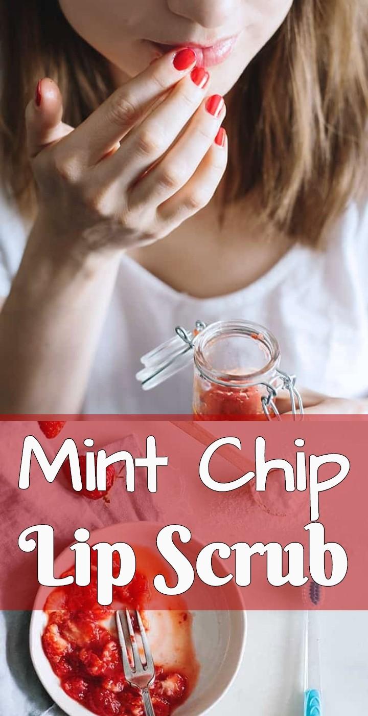 Mint Chip Lip Scrub