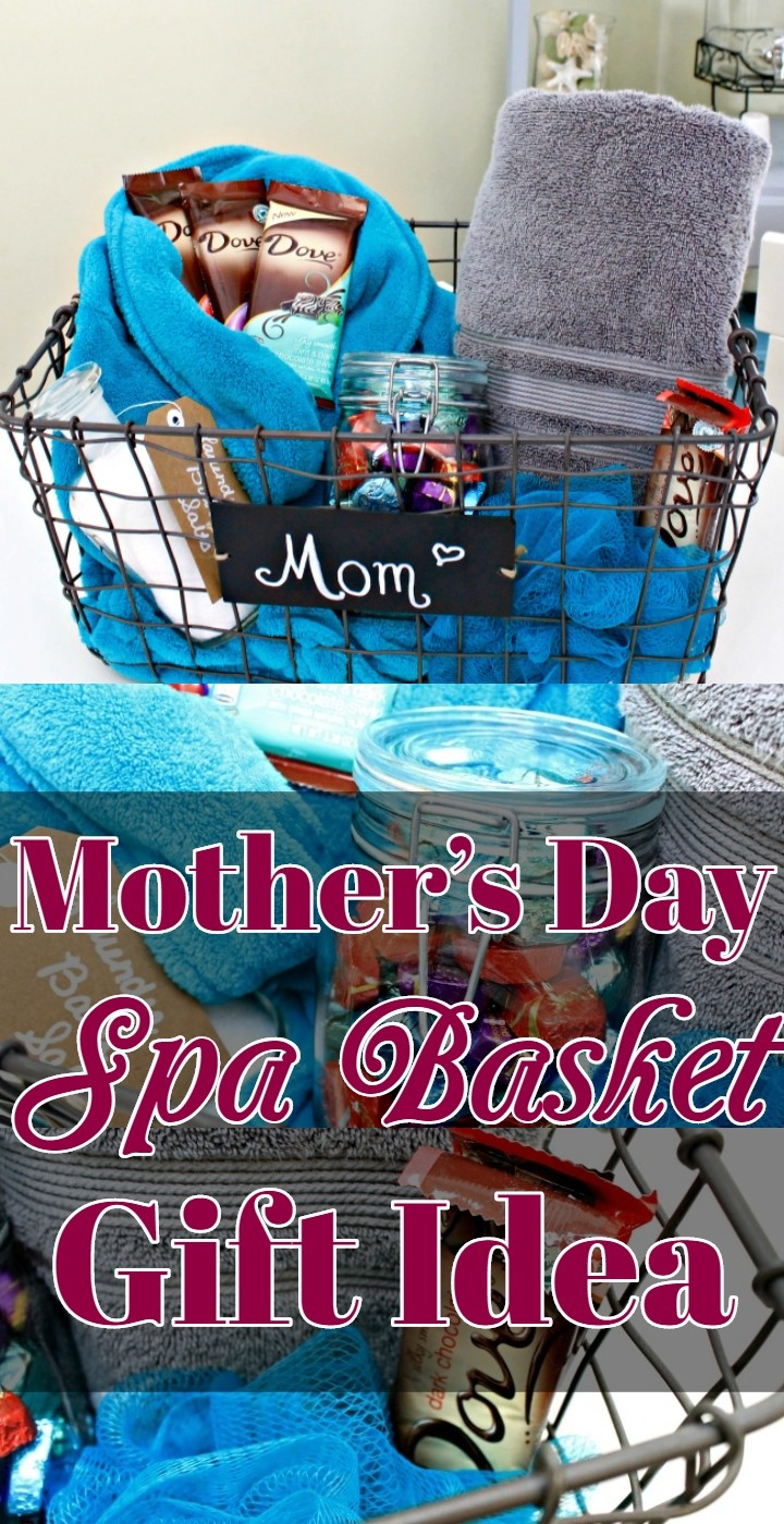 Mother's Day Spa Basket Gift Idea