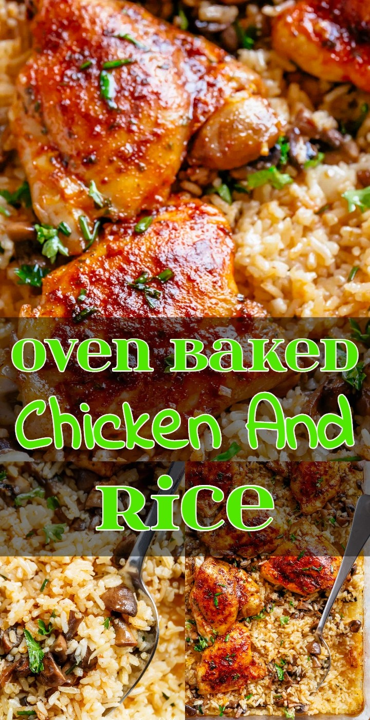Oven Baked Chicken And Rice 1