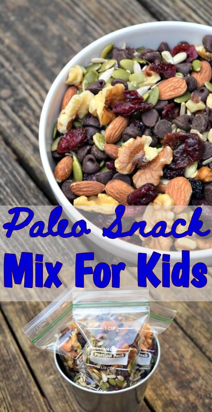 Paleo Snack Mix For Kids
