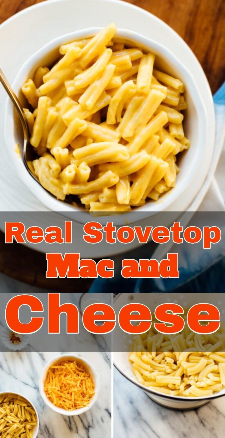 Real Stovetop Mac and Cheese