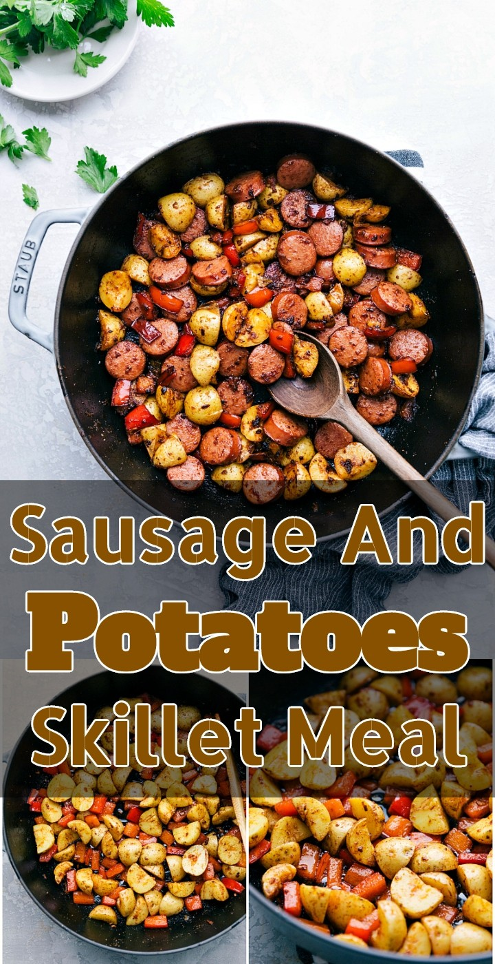 Sausage And Potatoes Skillet Meal