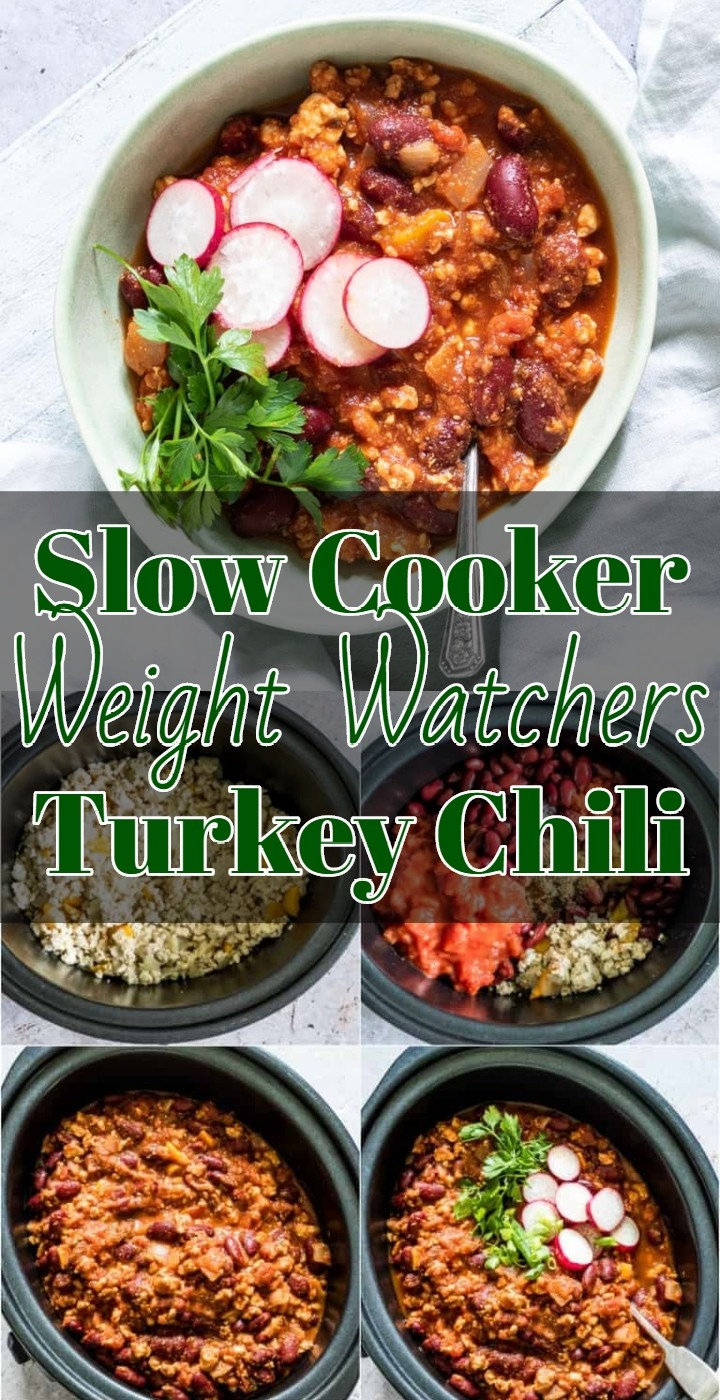 Slow Cooker Weight Watchers Turkey Chili