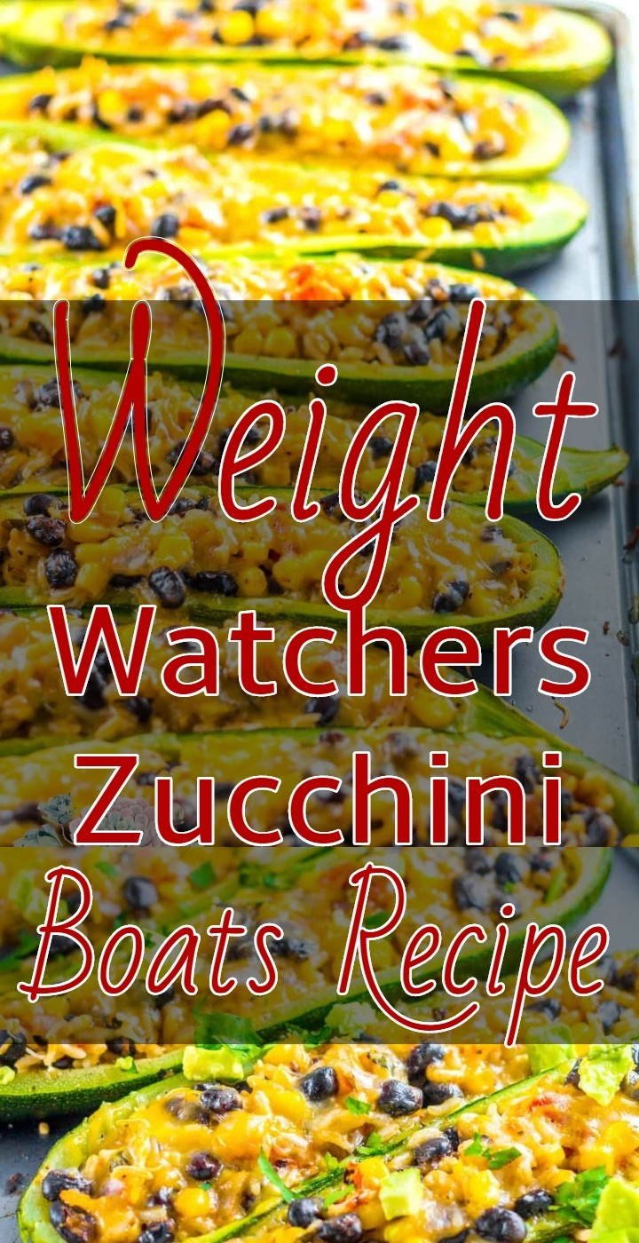 Weight Watchers Zucchini Boats Recipe