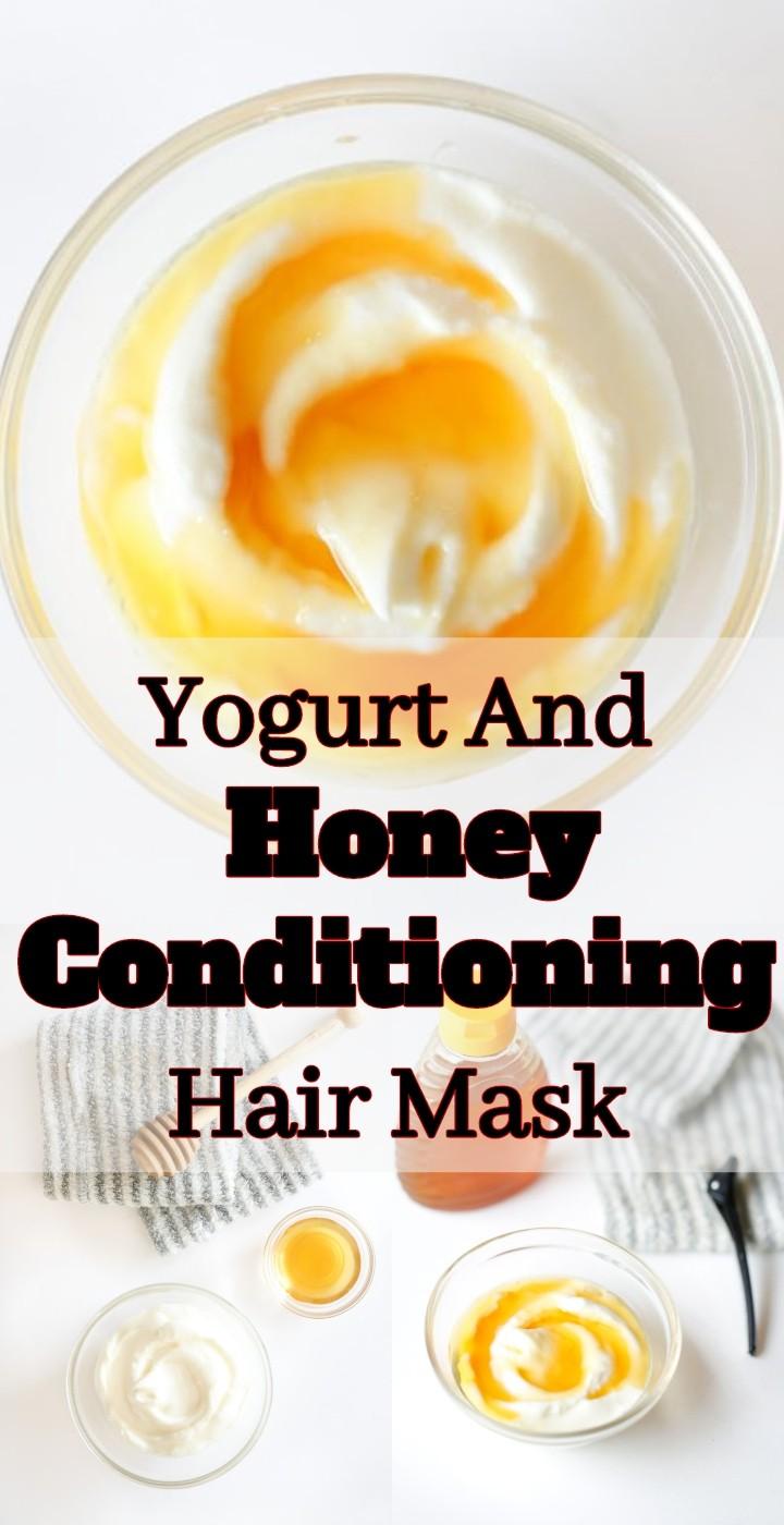 Yogurt And Honey Conditioning Hair Mask