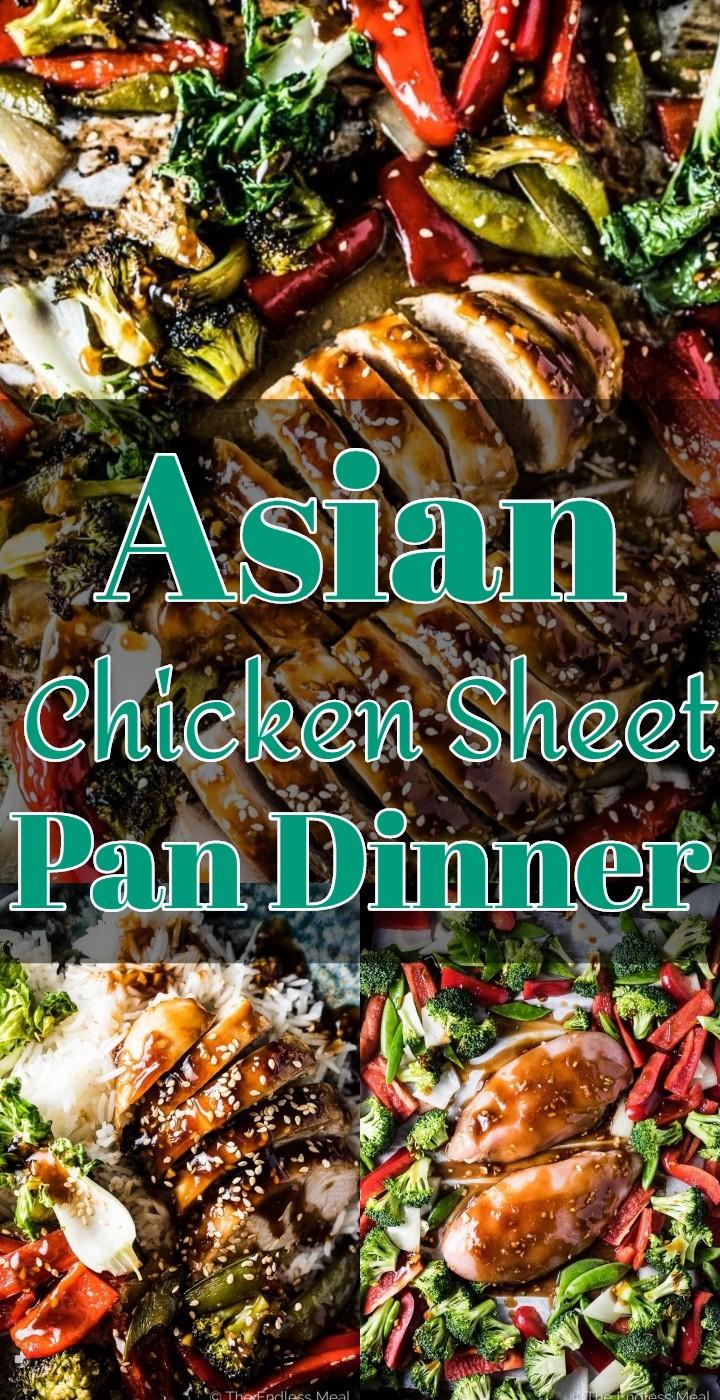 Asian Chicken Sheet Pan Dinner