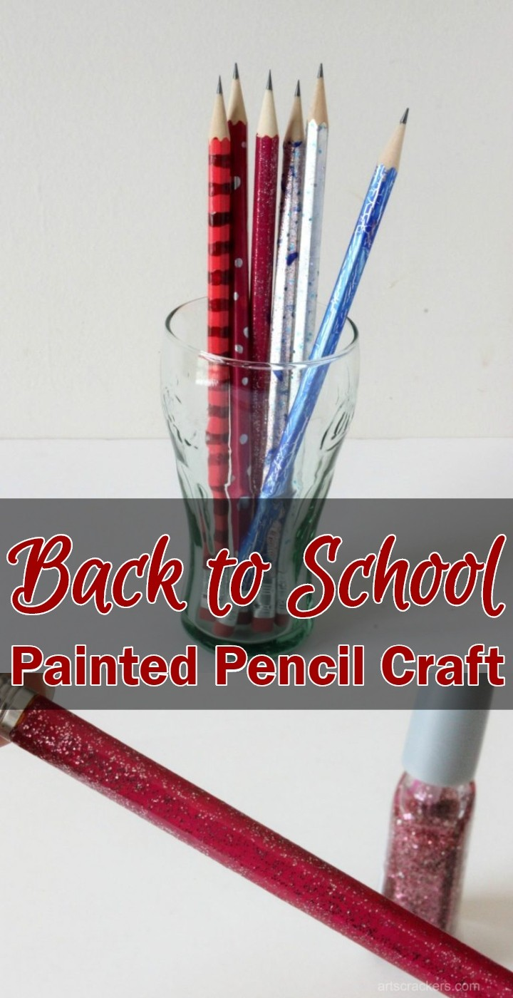 Back to School Painted Pencil Craft