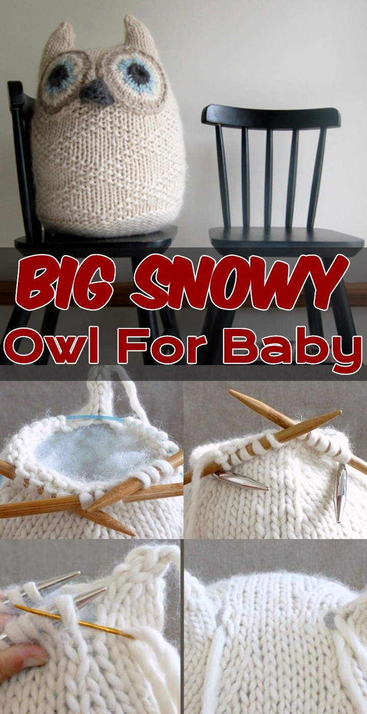 Big Snowy Owl For Baby