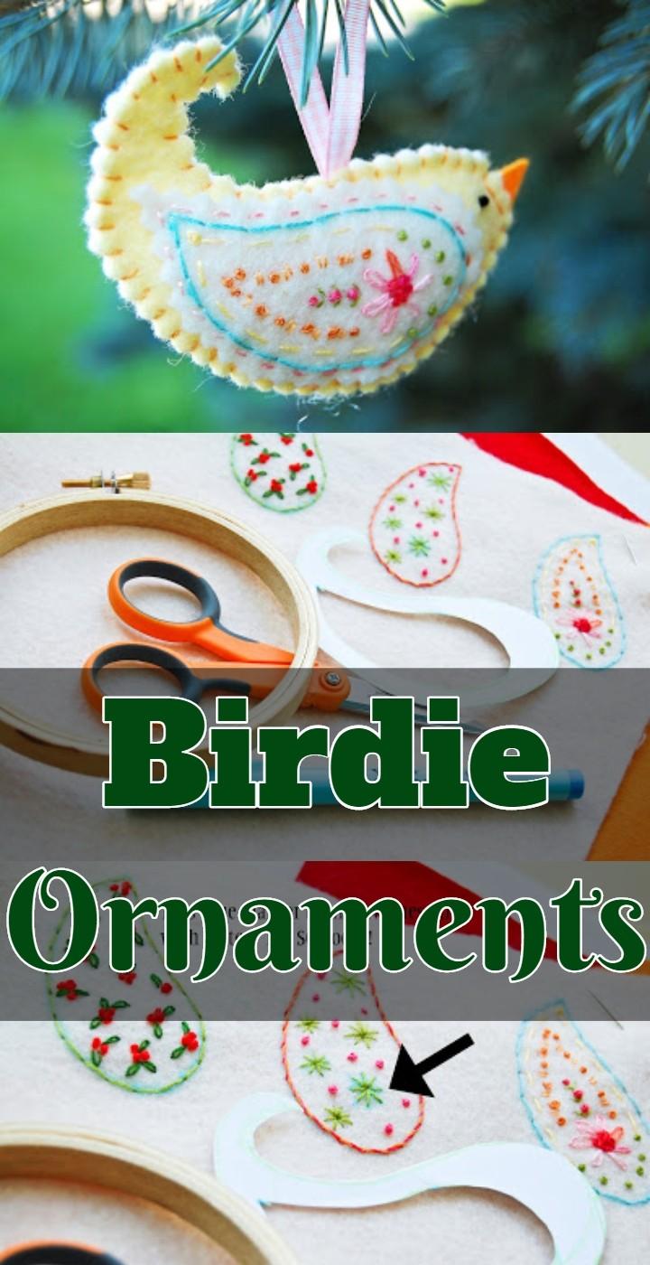 Birdie Ornaments