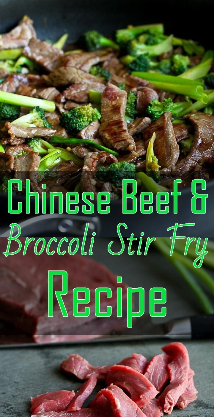 Chinese Beef Broccoli Stir Fry Recipe