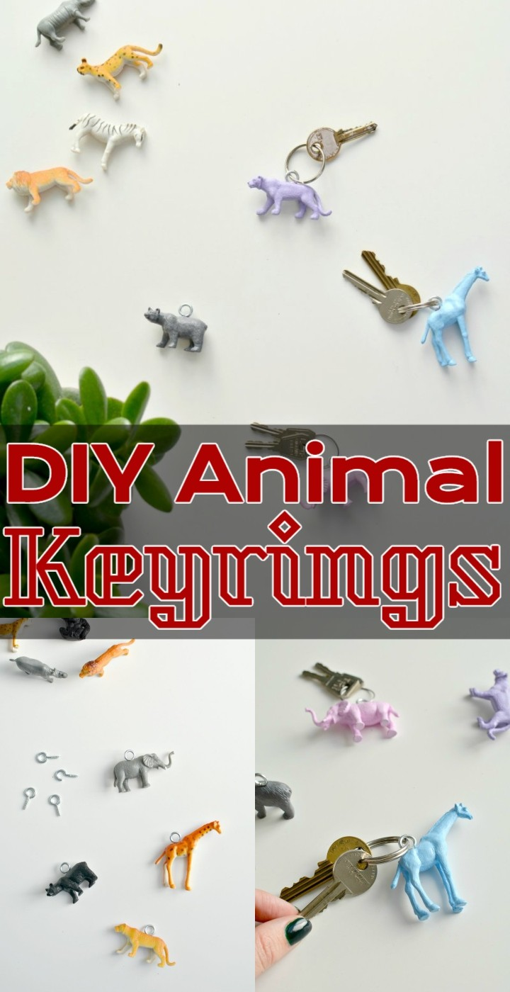 DIY Animal Keyrings