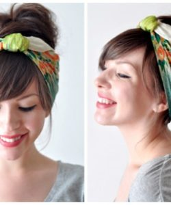 DIY Bandana Ideas For Hair - Easy Bandana Headband