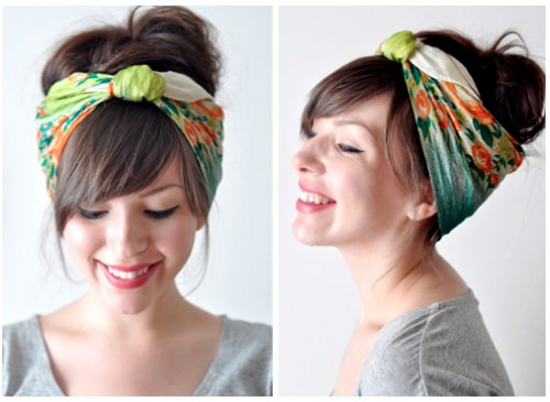 DIY Bandana Ideas For Hair Easy Bandana Headband
