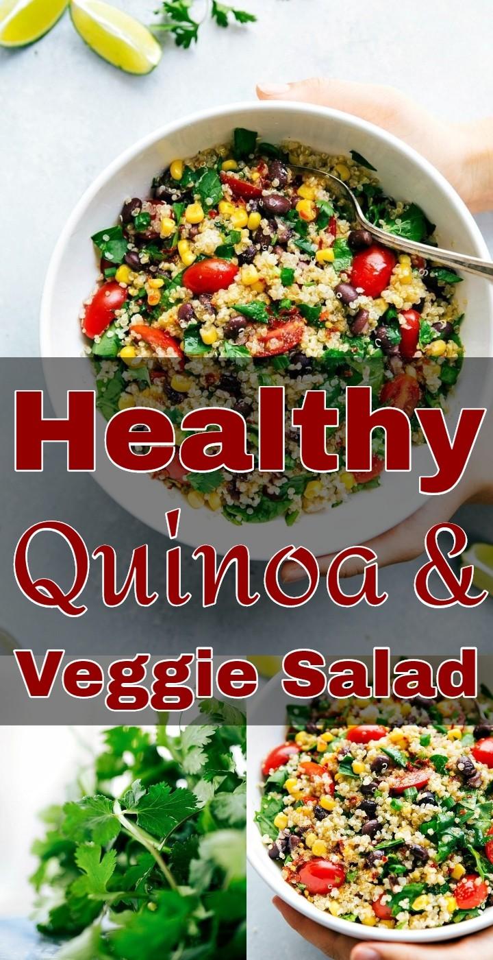 Healthy Quinoa Veggie Salad