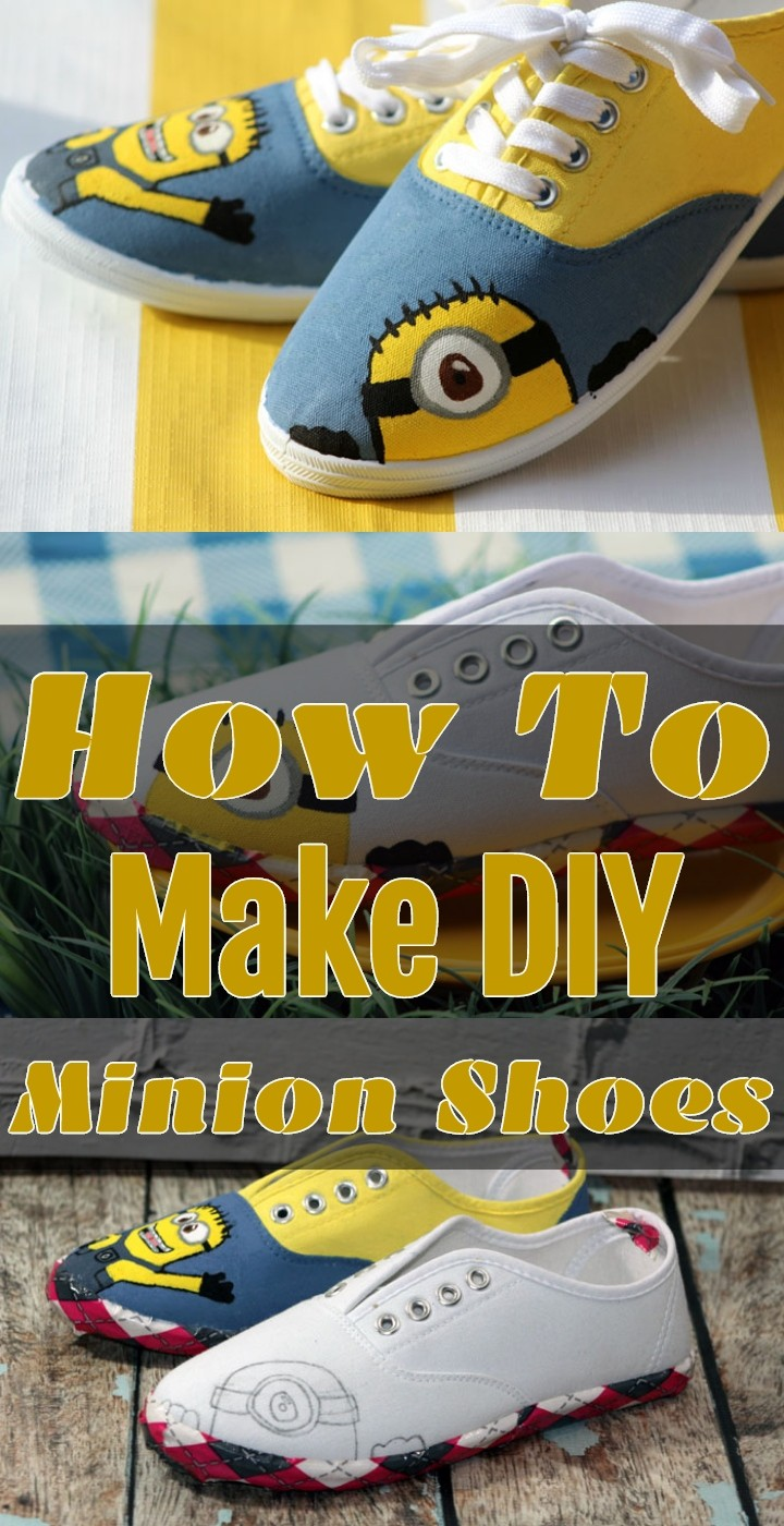 How To Make DIY Minion Shoes