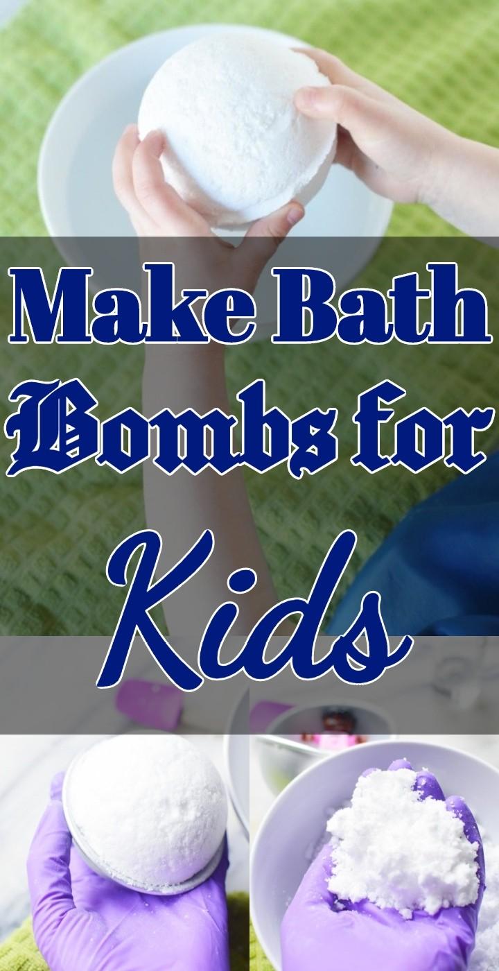 Make Bath Bombs for Kids