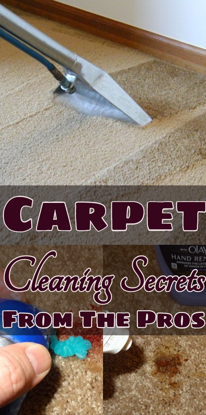 Carpet Cleaning Secrets From The Pros