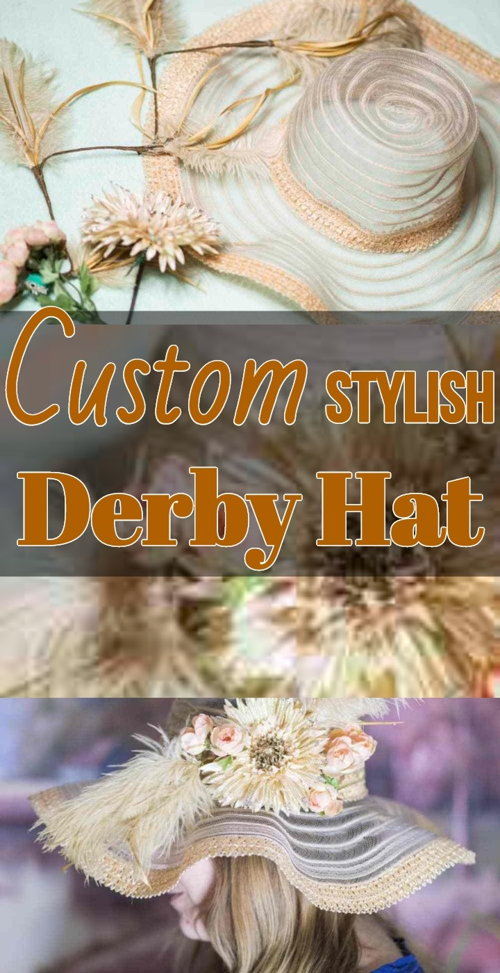 Custom Stylish Derby Hat