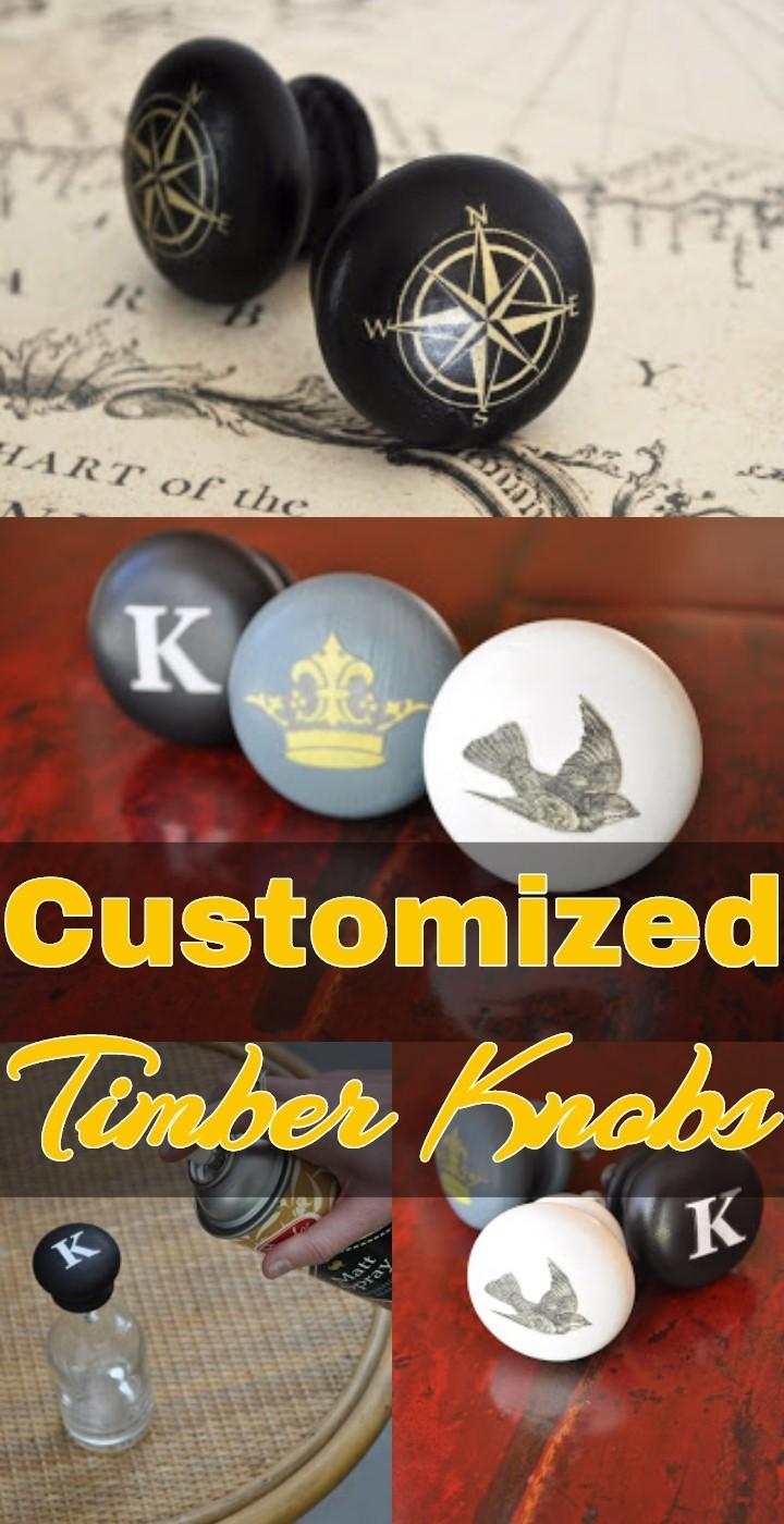Customized Timber Knobs