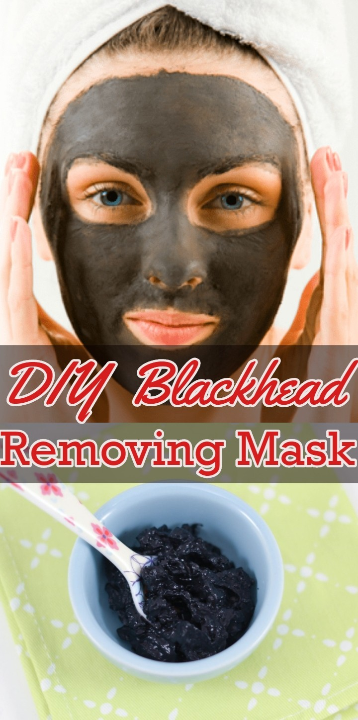 DIY Blackhead Removing Mask