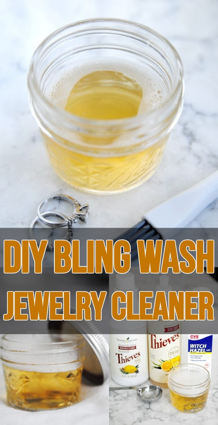 DIY Bling Wash Jewelry Cleaner