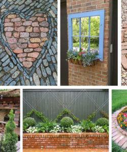 DIY Ideas With Bricks - Decorating With Bricks