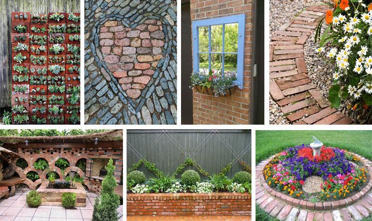 DIY Ideas With Bricks Decorating With Bricks