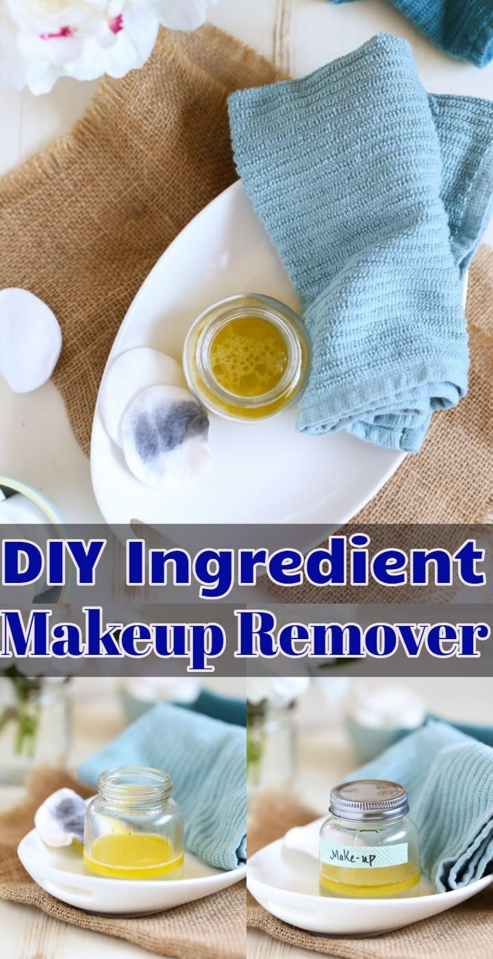 DIY Ingredient Makeup Remover
