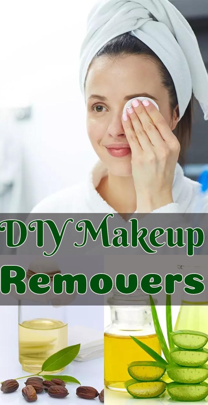 DIY Makeup Removers