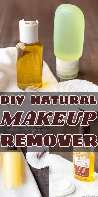 DIY NATURAL MAKEUP REMOVER