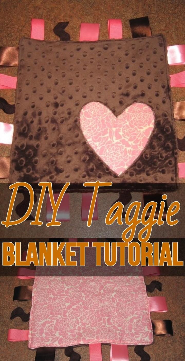 DIY Taggie Blanket Tutorial