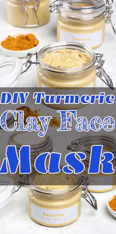 DIY Turmeric Clay Face Mask