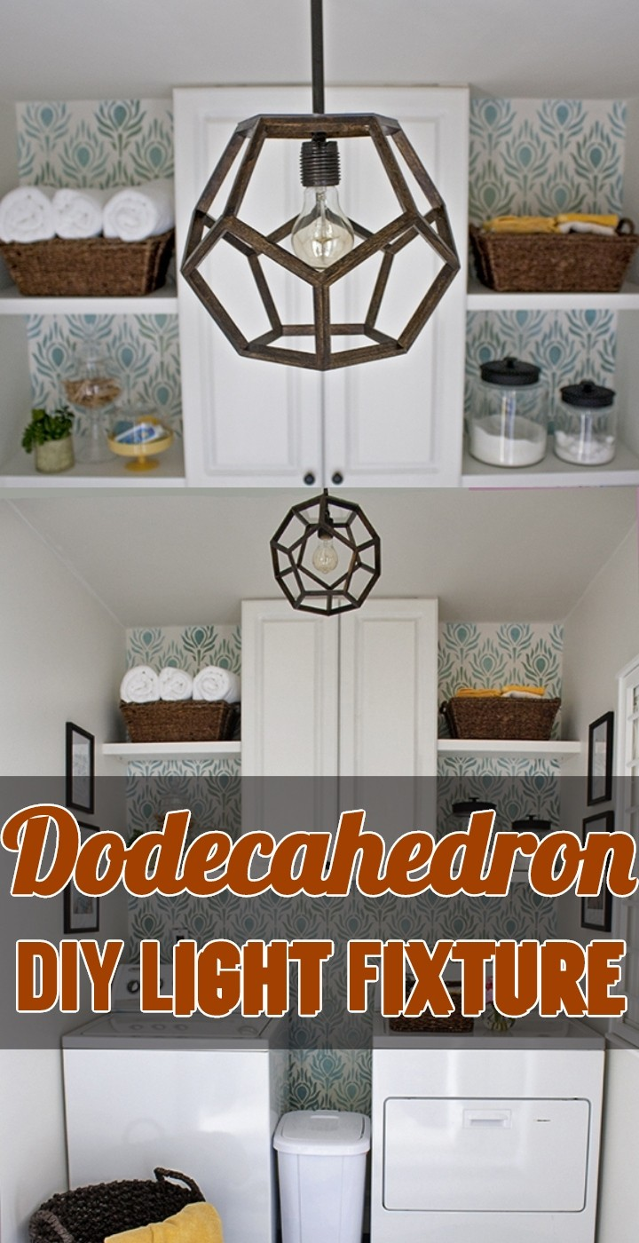 Dodecahedron DIY Light Fixture