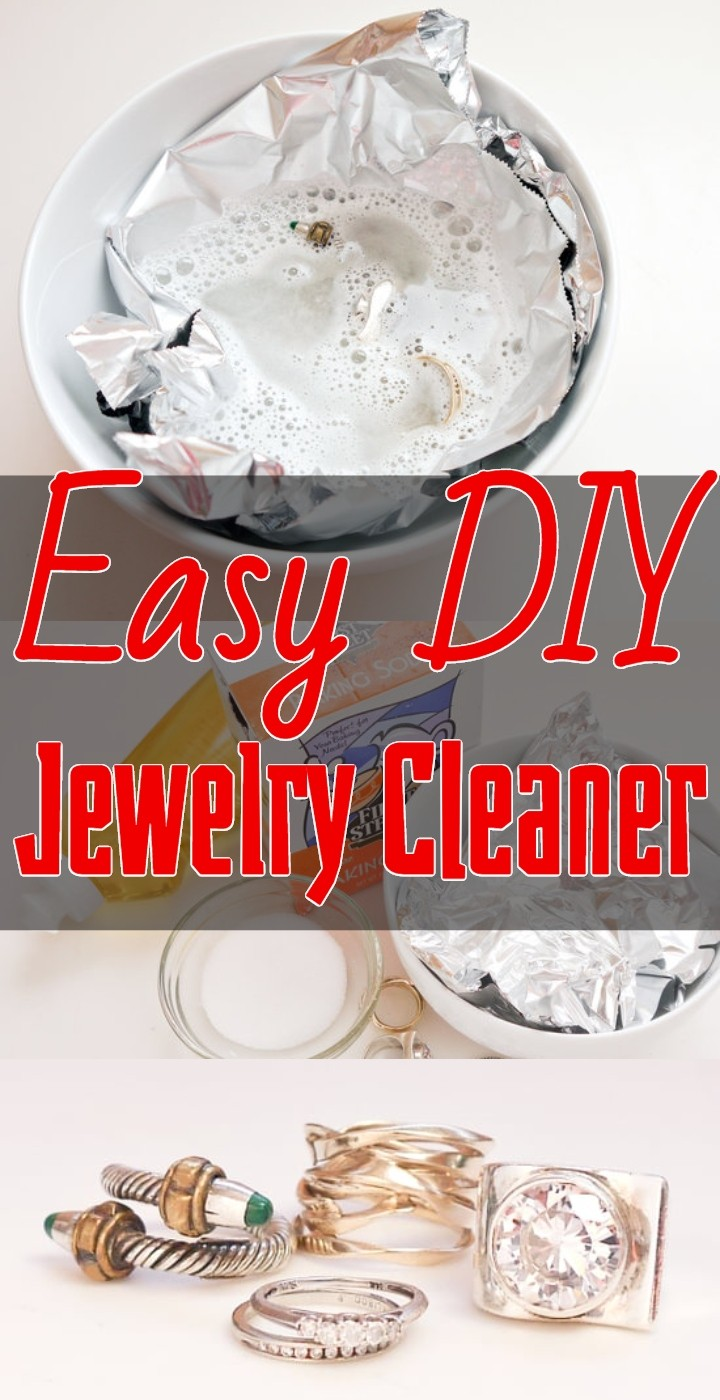 Easy DIY Jewelry Cleaner