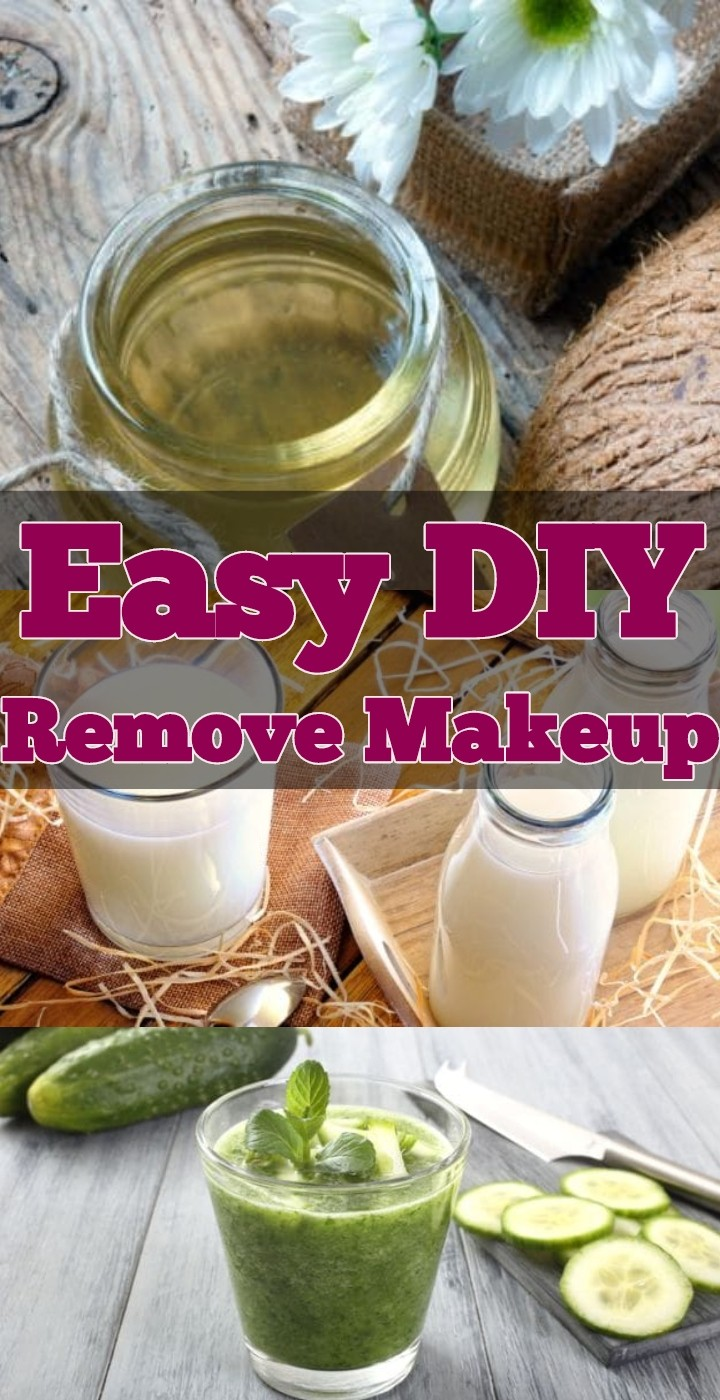 Easy DIY Remove Makeup