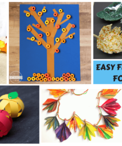 Easy & Unique Fall Crafts For Kids With Instructions