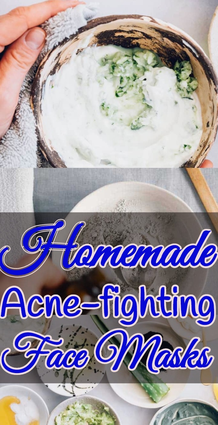 Homemade Acne fighting Face Masks